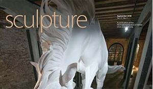 Sculpture Magazine, September 2018